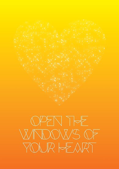 Open The Windows of Your Heart - OrangeYellow by tommyrockett