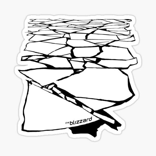 The Blizzard Originals - Broken Ice (Small Products) Sticker