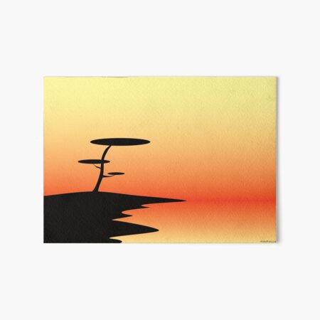 Sunset Art Board Print