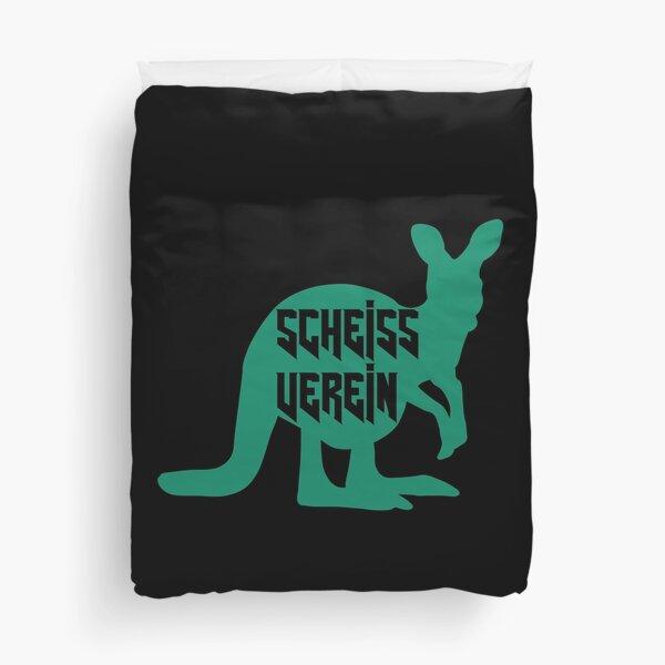 Scheiß Verein - Känguru Bettbezug
