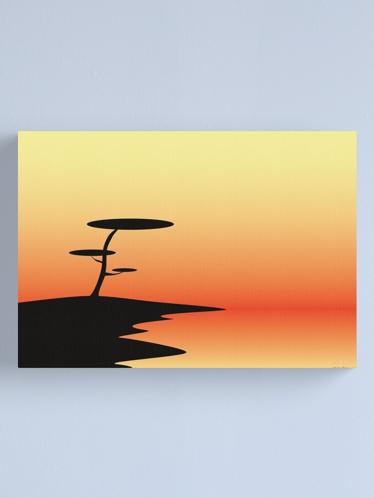 Alternate view of Sunset Canvas Print