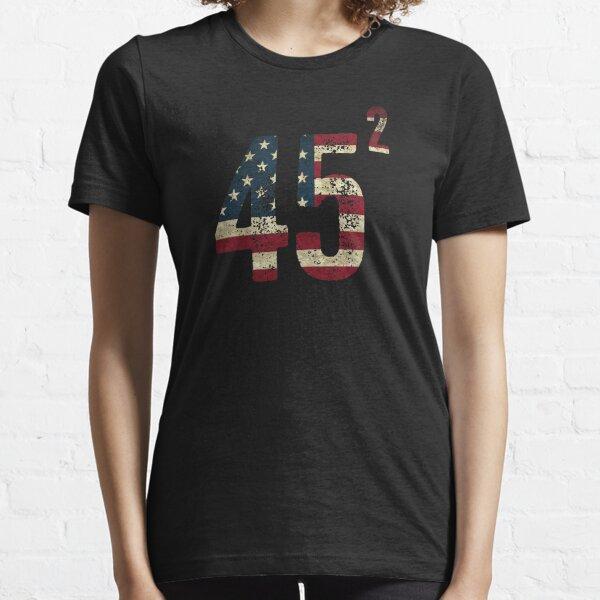 45 Squared Trump Essential T-Shirt