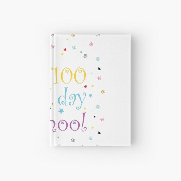100 days of school shirt,100 days smarter,100 days of school shirt boys,Girls 100 Days of School Shirt Hardcover Journal