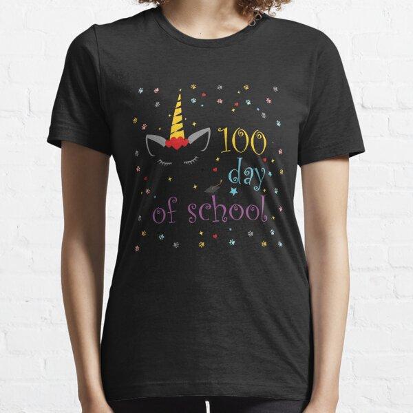 100 days of school shirt,100 days smarter,100 days of school shirt boys,Girls 100 Days of School Shirt Essential T-Shirt