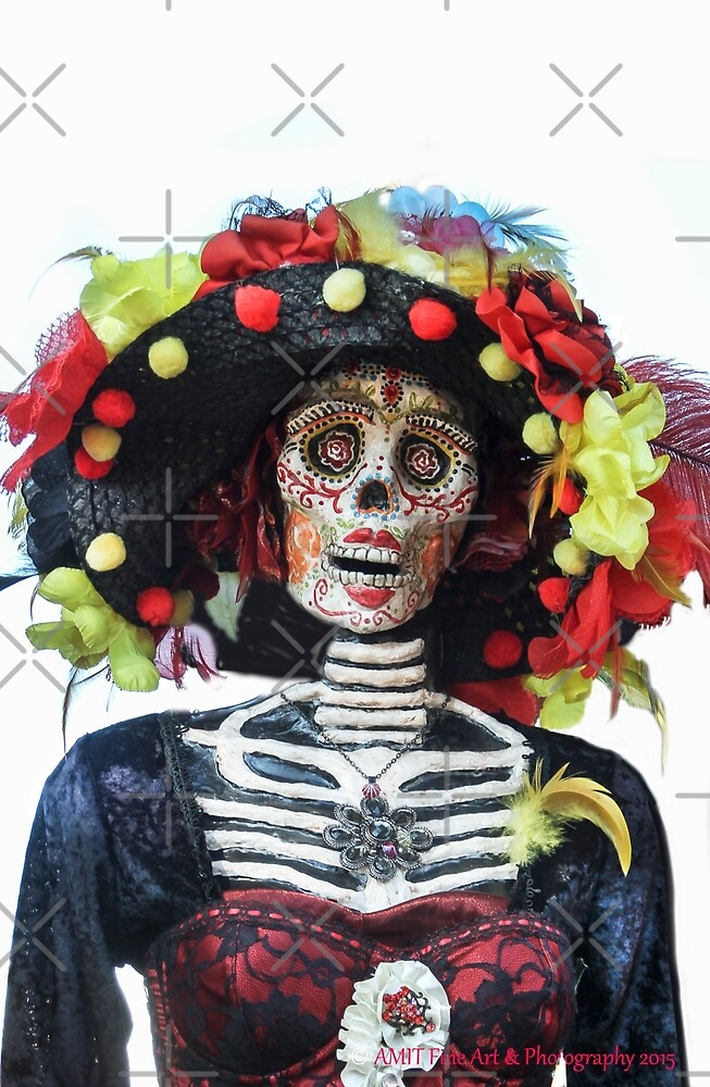 DAY OF THE DEAD #3 by Heather Friedman