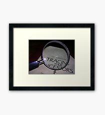 Detective Work Framed Print