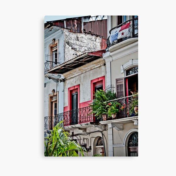 Panama Viejo Charm Canvas Print