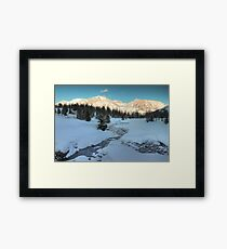 Winter view Framed Print