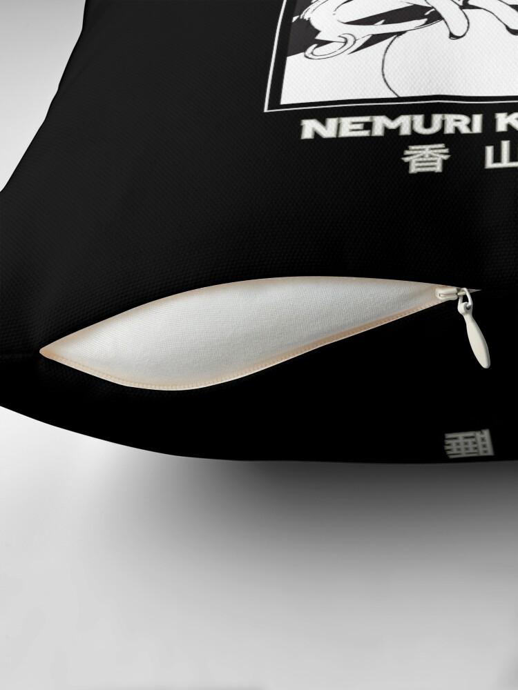 Alternate view of NEMURI KAYAMA - My hero Academia - Black Version Floor Pillow