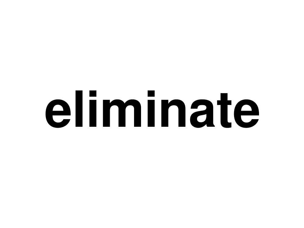 eliminate by ninov94