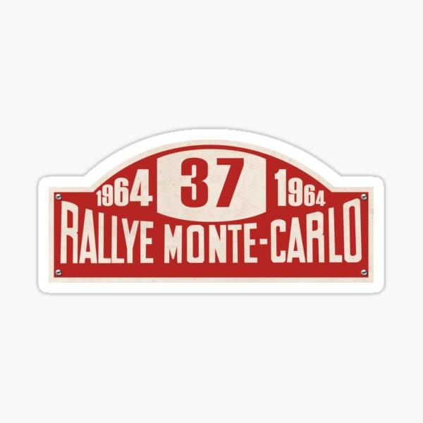 Rallye Monte Carlo 1964 Sign Sticker