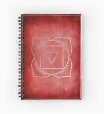 Root Chakra Spiral Notebook