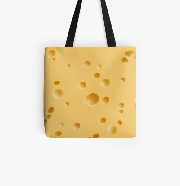 Cheese Holes All Over Print Tote Bag