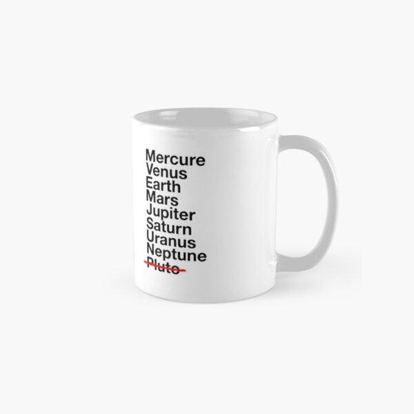 Mug liste des planètes Mug classique