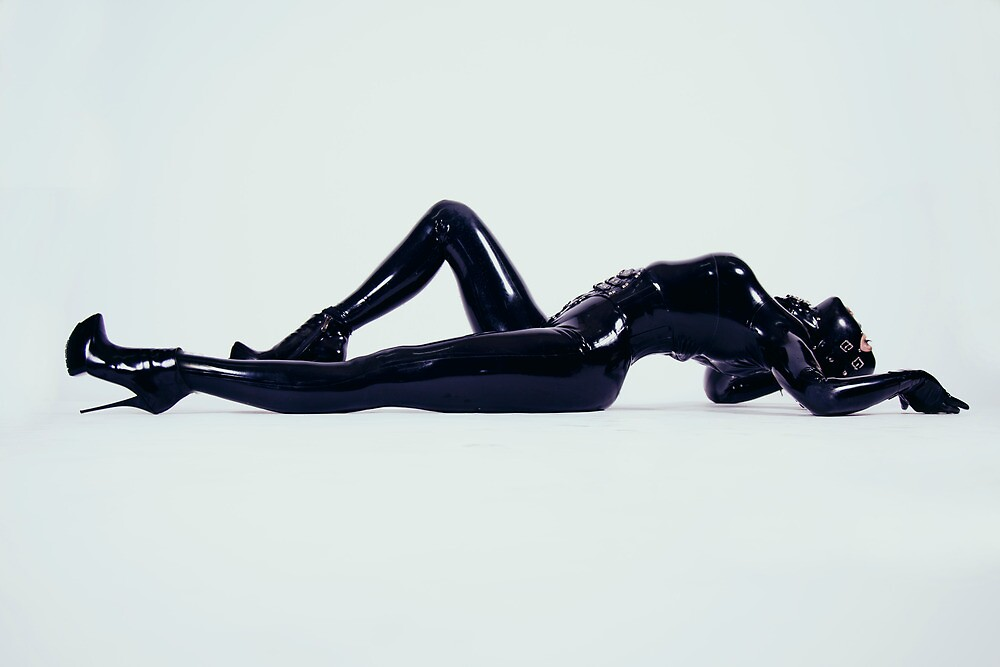 Quot Miss L In Head To Toe Latex Splendour Quot By