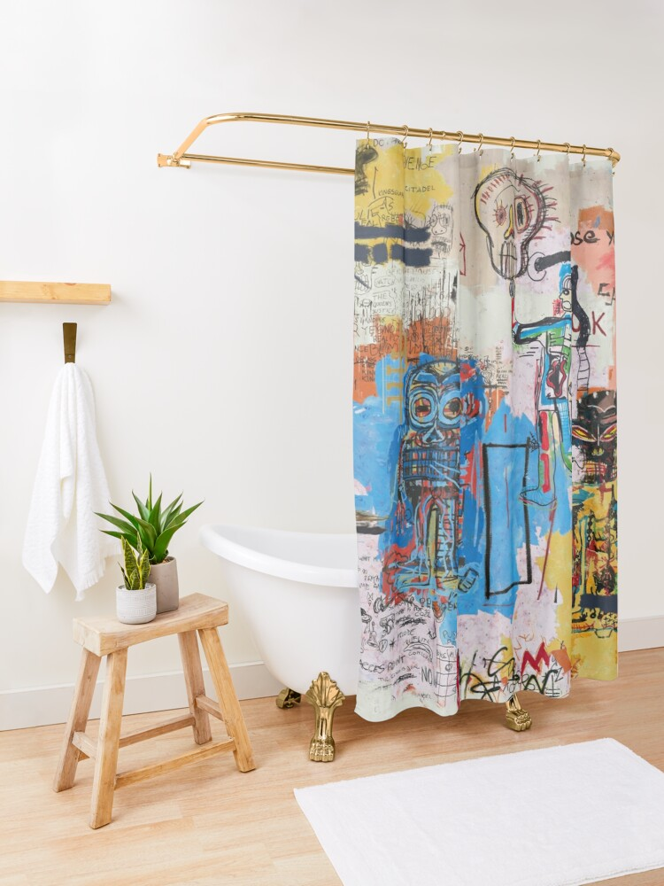 Alternate view of Salvation Shower Curtain