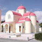 Greek Church  Crete by mikequigley