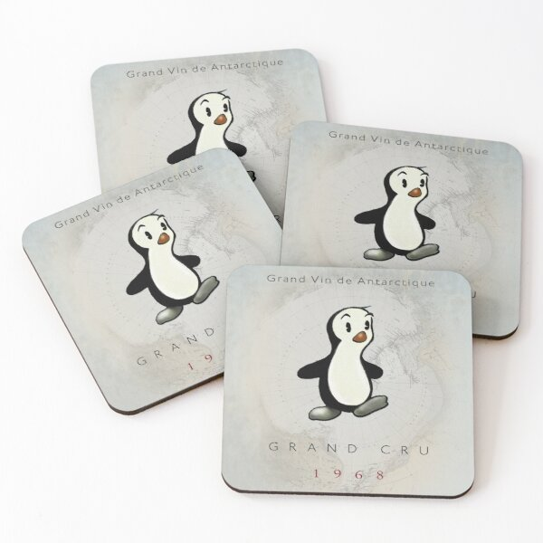 Manchot Coasters (Set of 4)