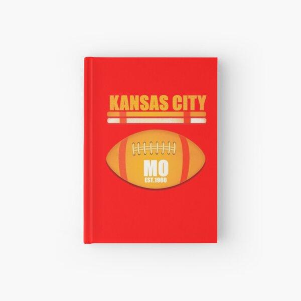 Kansas City Missouri Football Design Hardcover Journal