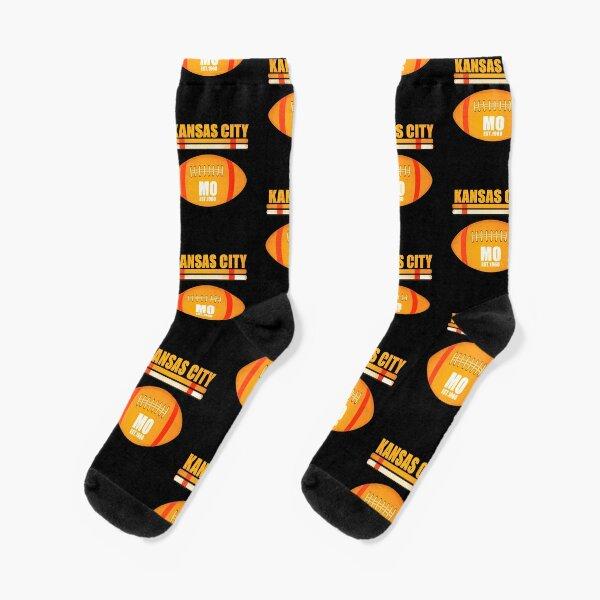 Kansas City Missouri Football Design Socks