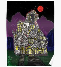 Haunted House Hill Poster