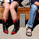 Red-hot boots. by geof