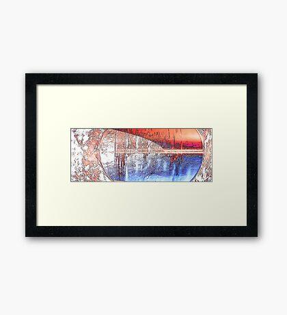 Under Observation Framed Print