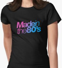 Made in the 80s - Helvetica Women's Fitted T-Shirt