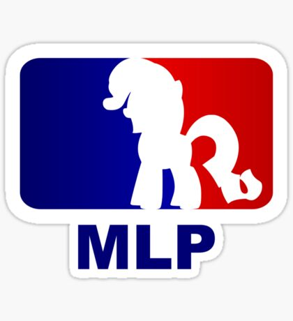 Major League Pony (MLP) - Rarity Sticker