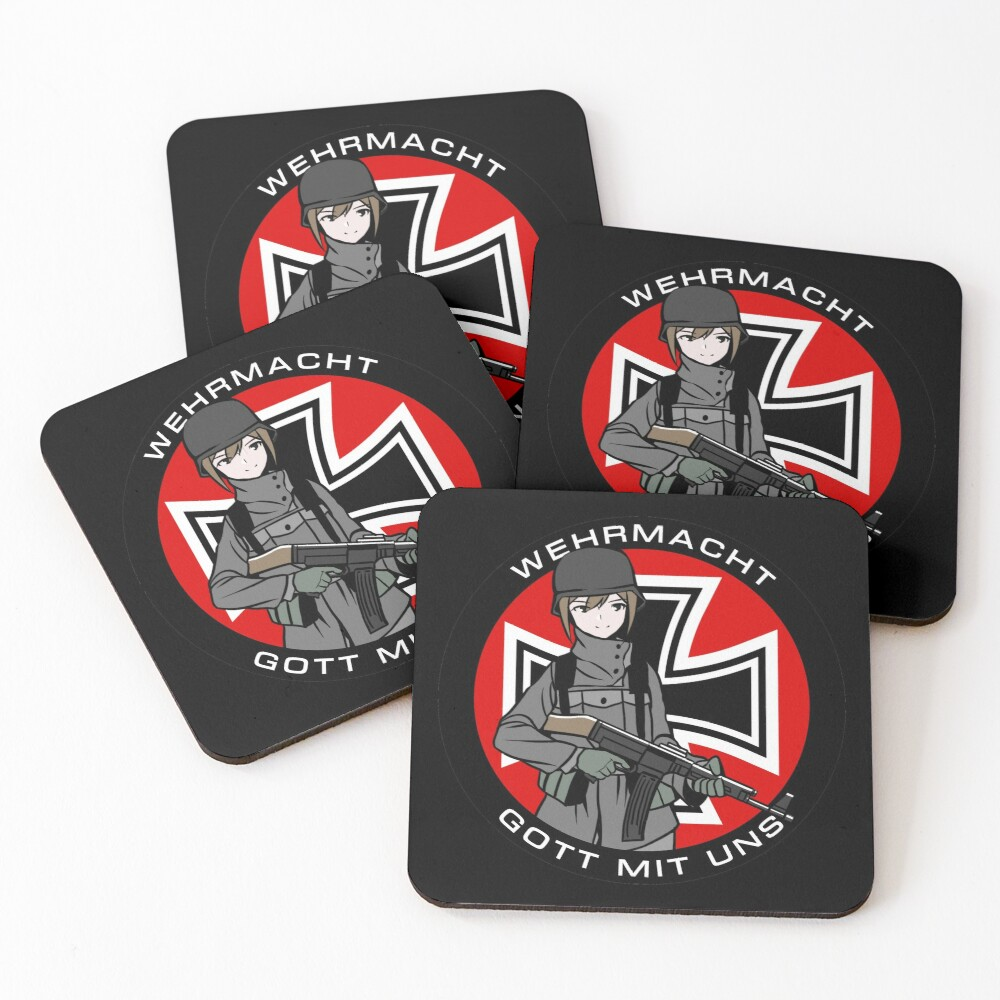 Wehrmacht Coasters (Set of 4)