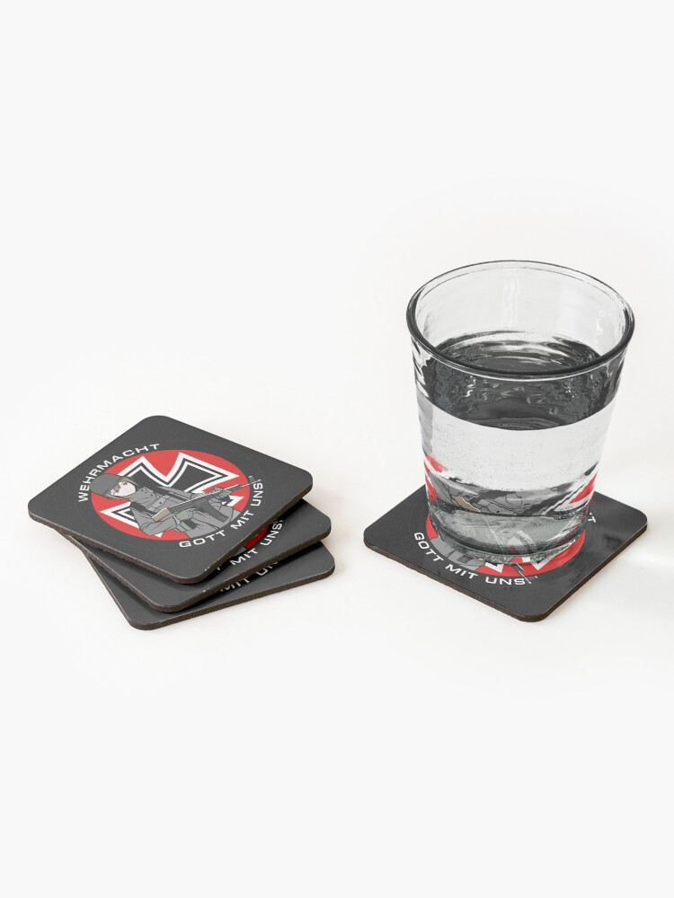 Alternate view of Wehrmacht Coasters (Set of 4)