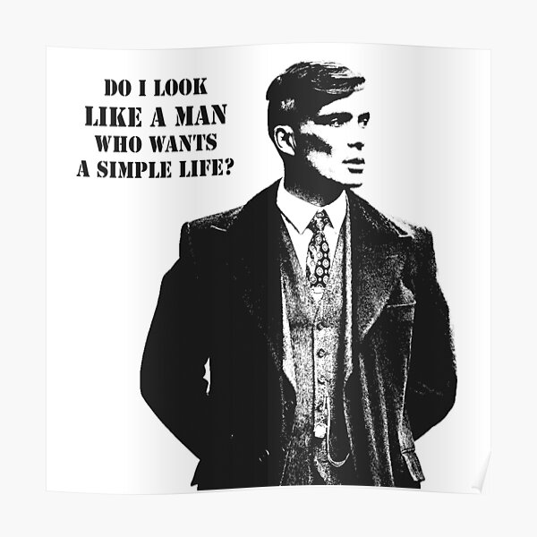 Tommy Shelby Poster