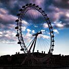 London eye by Dean Messenger