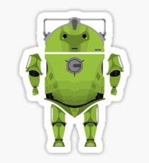 Cyberdroid Sticker