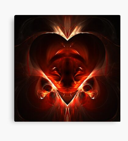 Amor Salvator Est Canvas Print