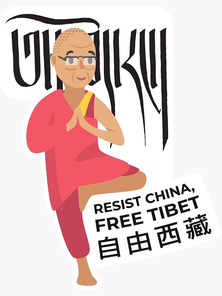 Free Tibet by AlefYodhAlef