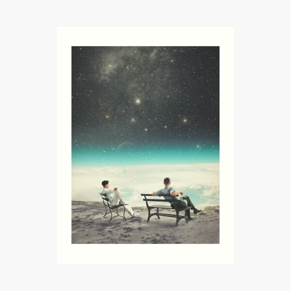 You Were There, in my Deepest Silence Art Print