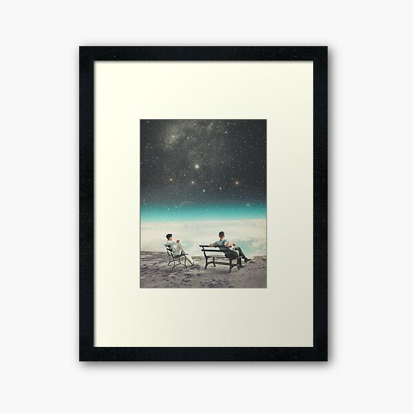 You Were There, in my Deepest Silence Framed Art Print