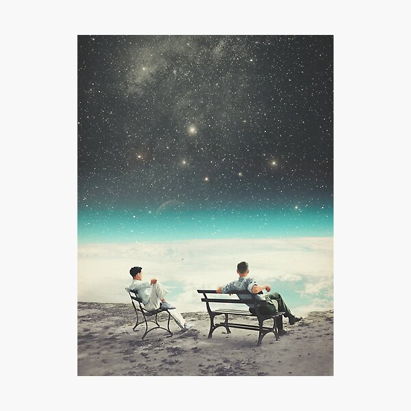 You Were There, in my Deepest Silence Photographic Print