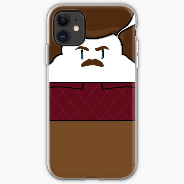 Ron Swanson iPhone Soft Case