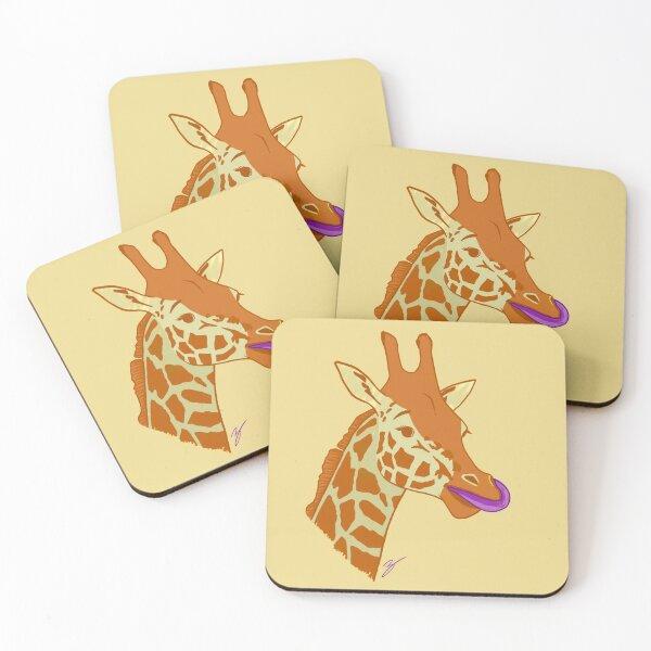 Simply Giraffe Coasters (Set of 4)