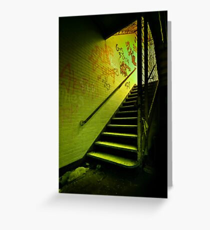 The Shining Darkness Greeting Card