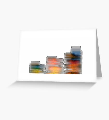 Cave Wall Greeting Card