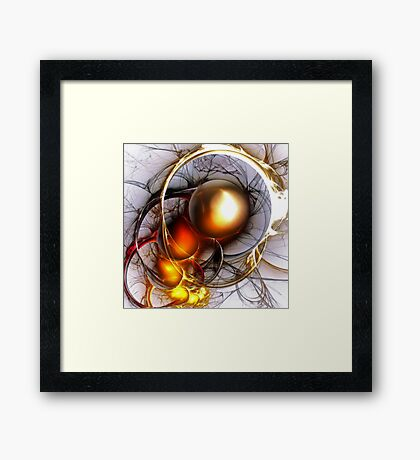 A nightmare that has to be remembered Framed Print