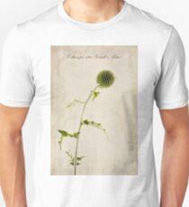 Echinops ritro 'Veitch's Blue' Unisex T-Shirt