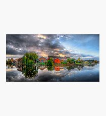 Suburban Sunrise Panorama Photographic Print