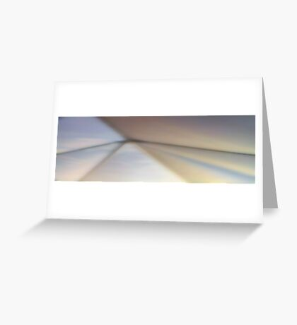 Lights on the wall Greeting Card