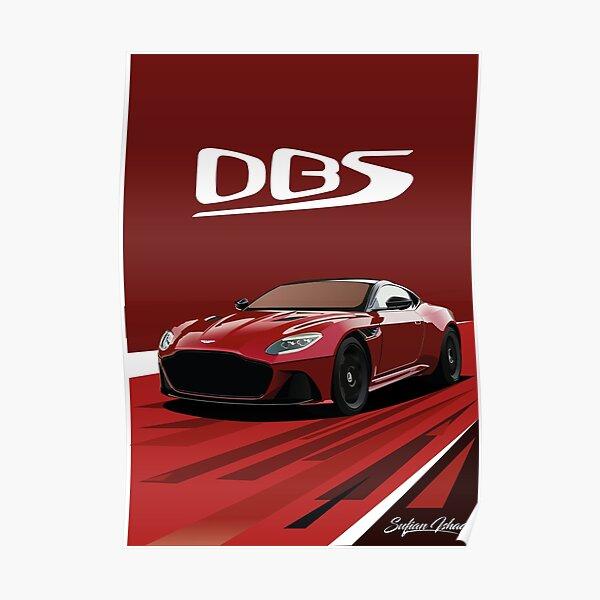 Aston Martin DBS Superleggera Poster