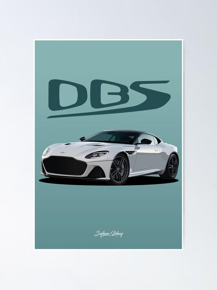 Aston Martin Dbs Superleggera V2 Poster By Sufianishaq Redbubble