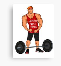 Hercules Whey Protein Canvas Print